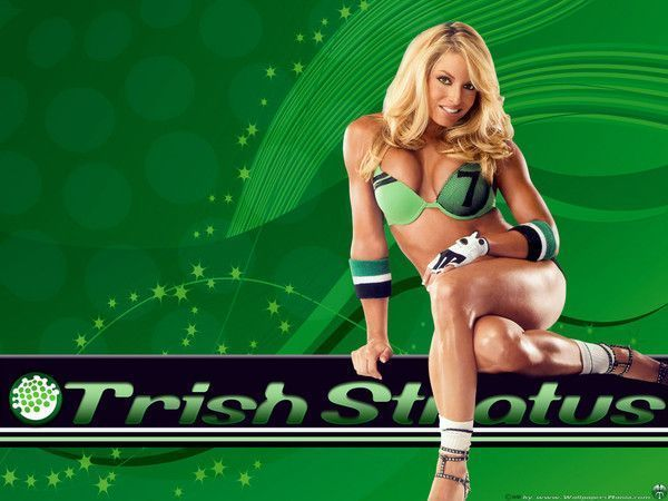 Trish stratus sexe robinet